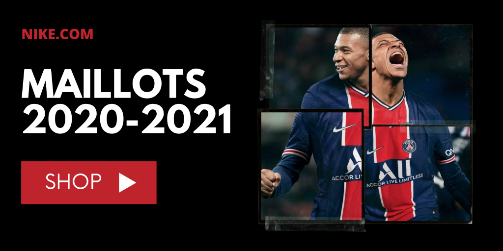 Maillots Nike 2020-2021