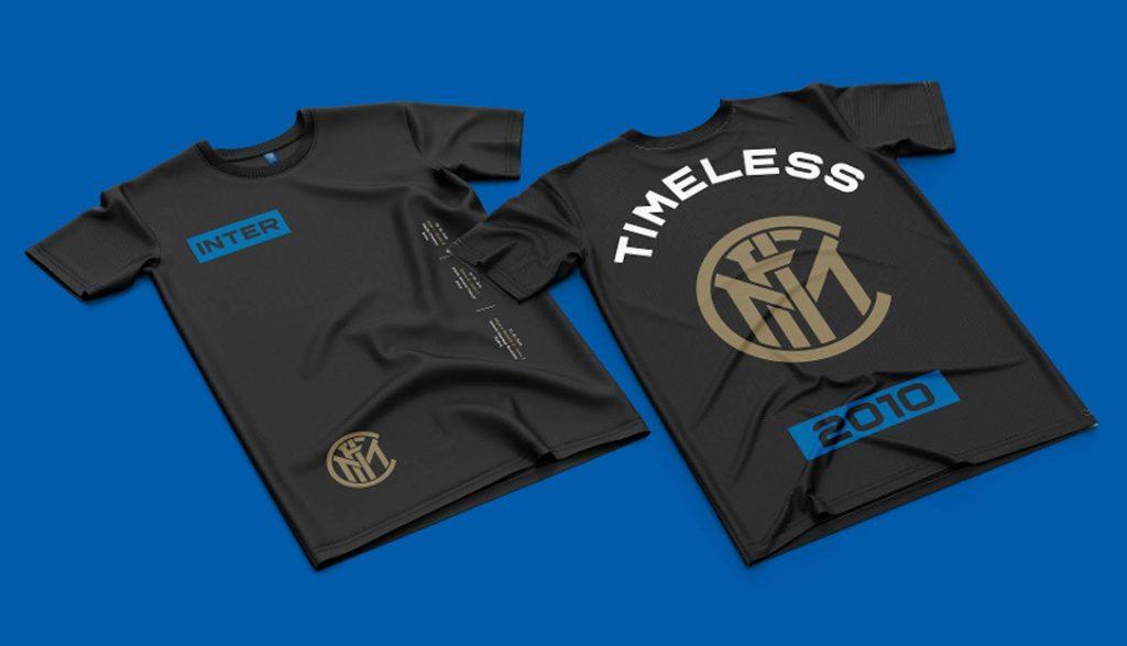 t-shirt noir inter