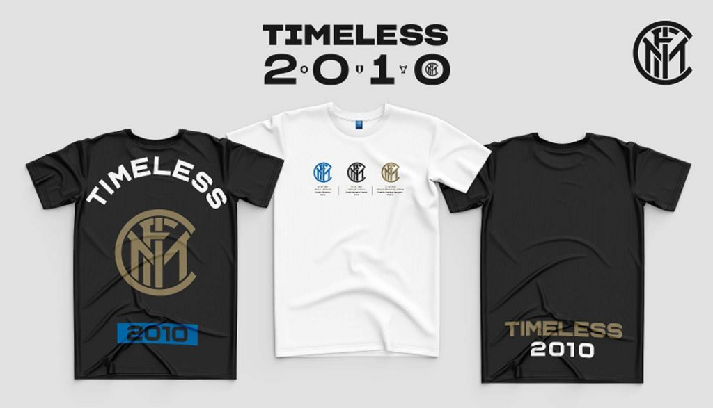 t-shirts inter timeless2010