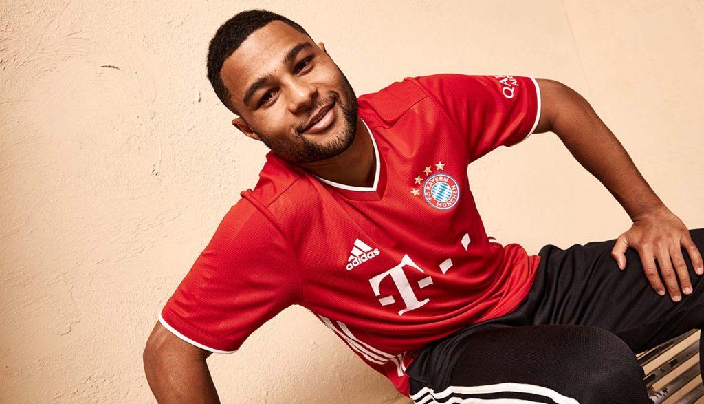 maillot domicile Bayern 2020/21