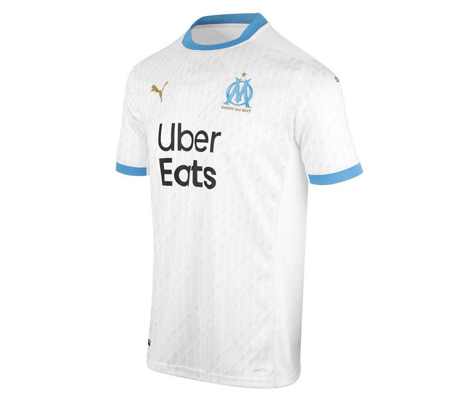 maillot domicile OM 2020:21