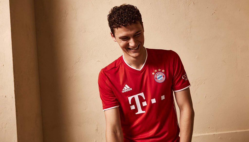 nouveau maillot domicile 2020/21 du Bayern Munich