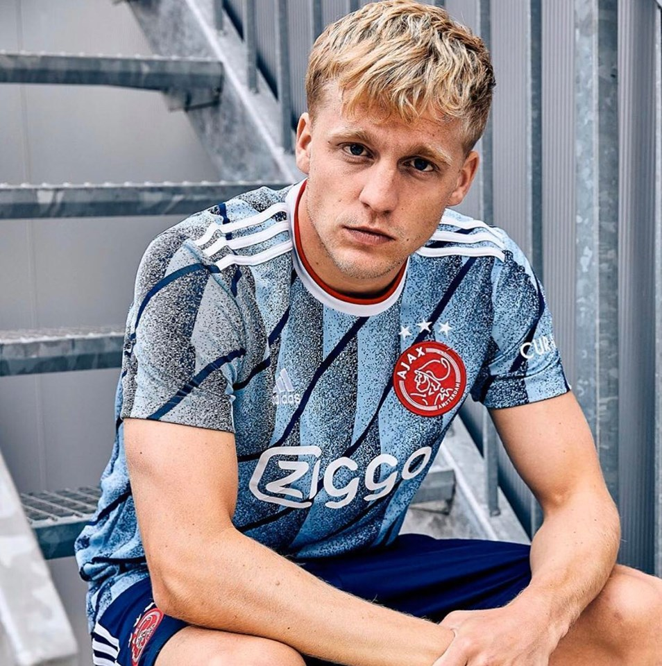 Ajax Amsterdam maillot extérieur 2020/21