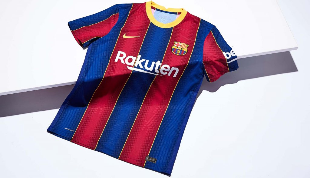 Nike lance le maillot domicile du FC Barcelone pour la