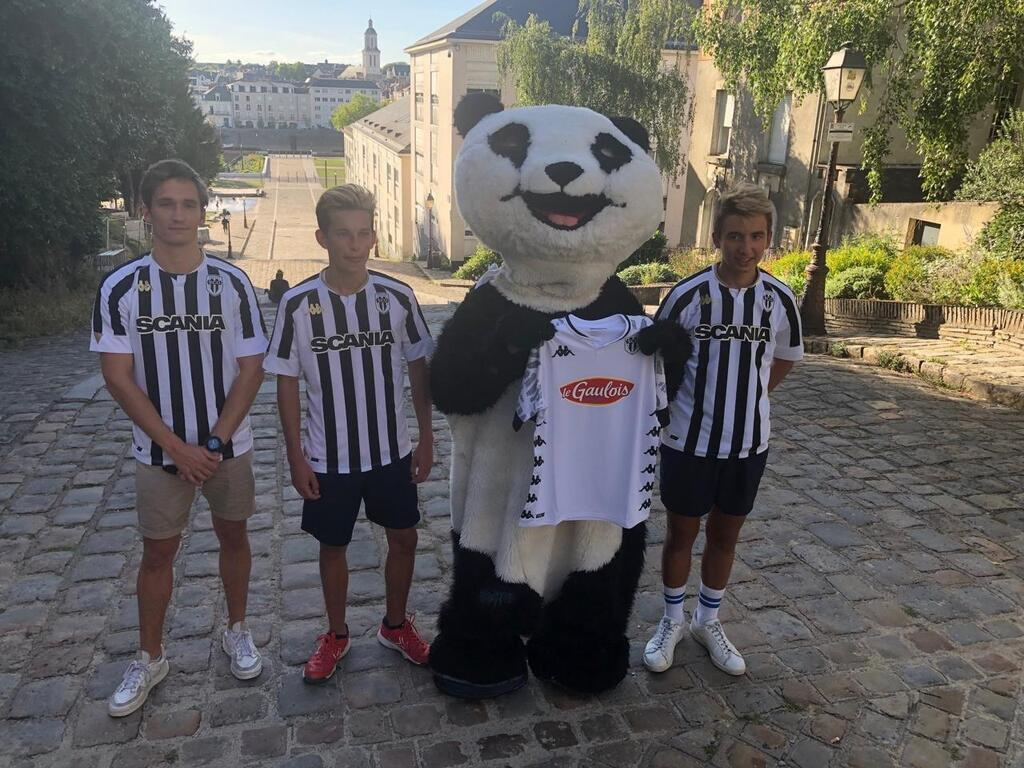 maillots angers sco 2020-2021