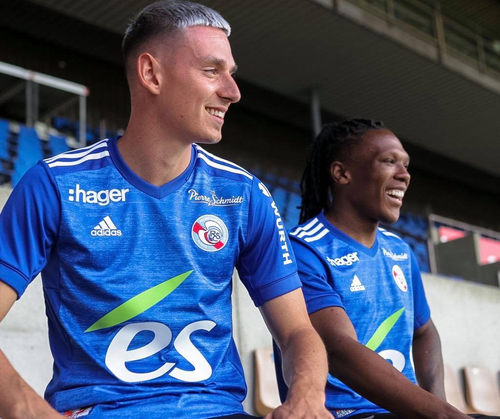 maillots rc strasbourg 2021