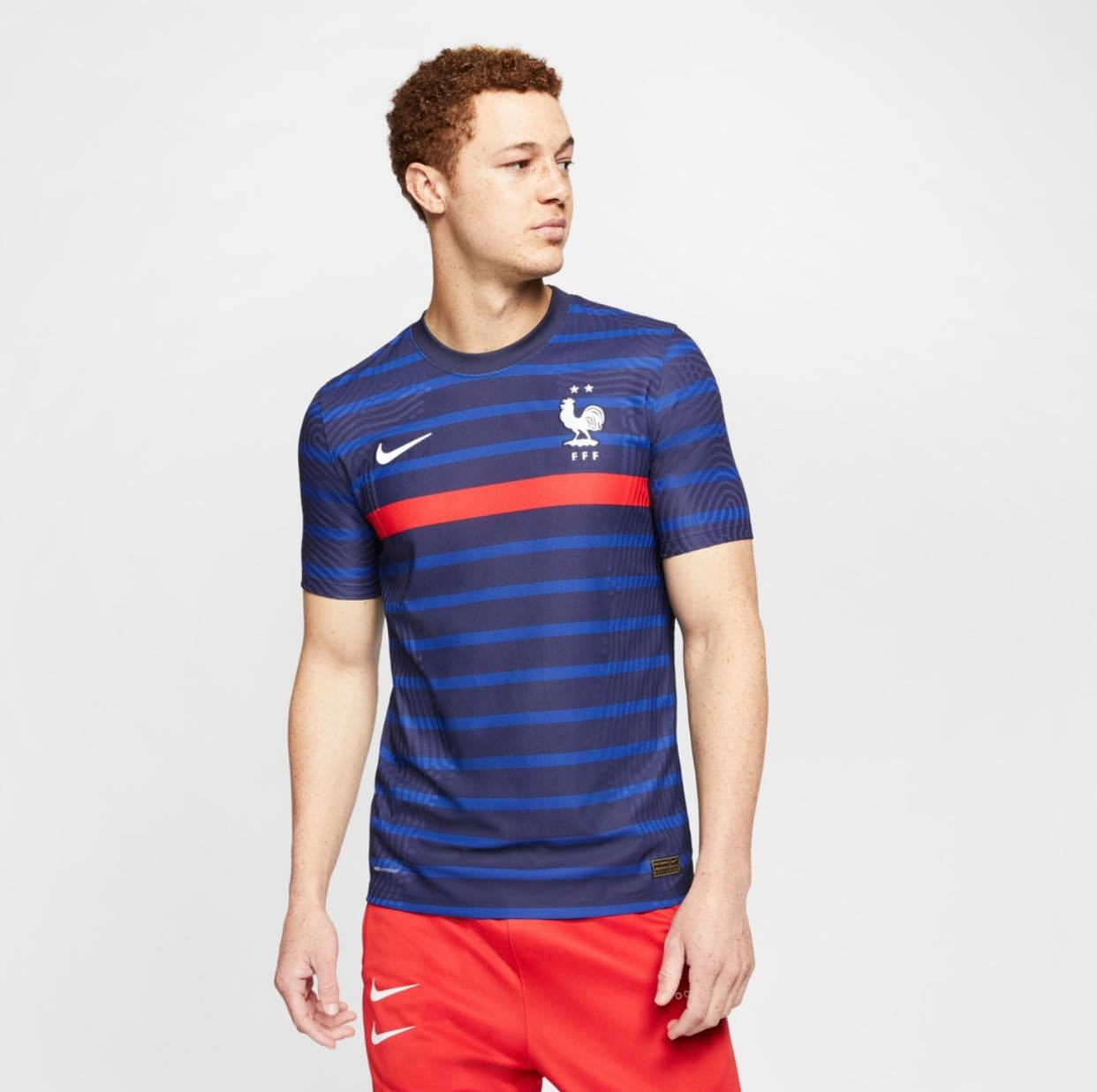 maillot domicile fff 2020-2022