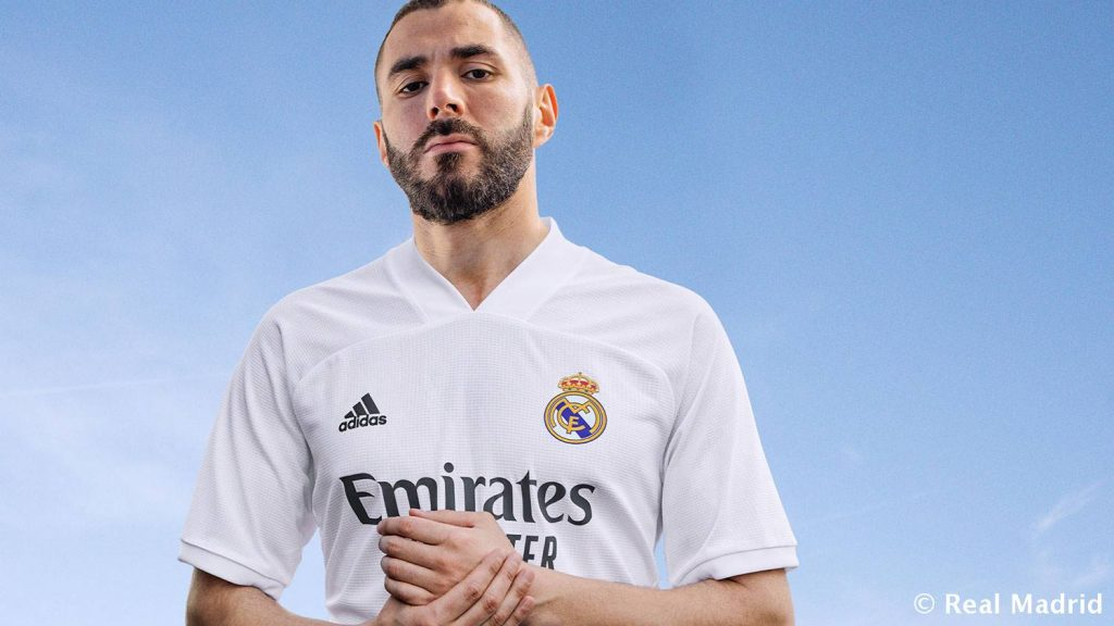 maillot domicile real madrid 2020:2021