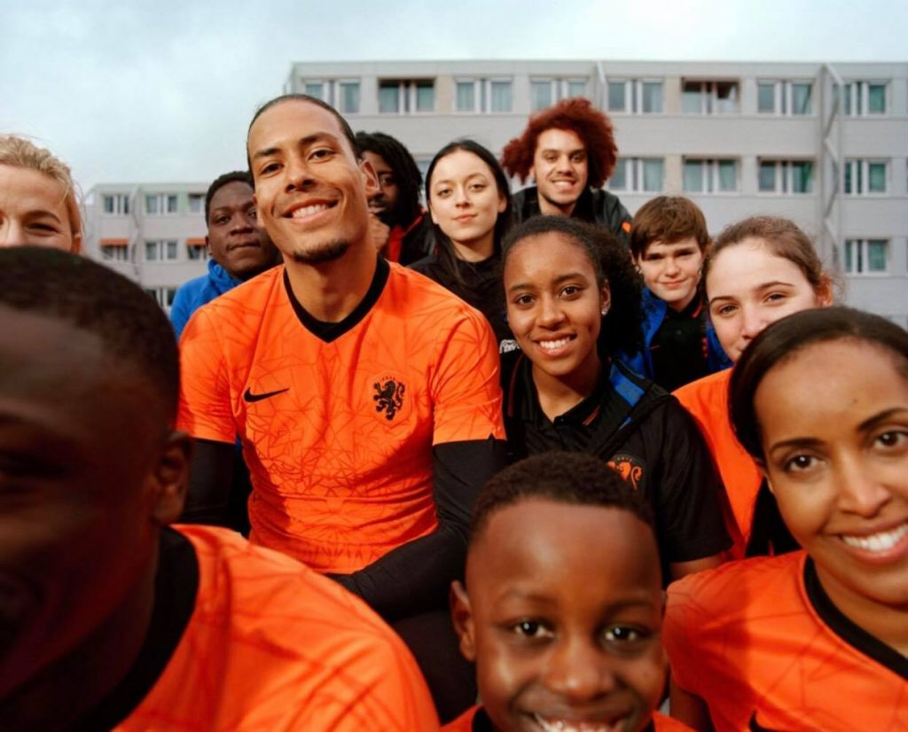 maillots pays-bas 2020-2022