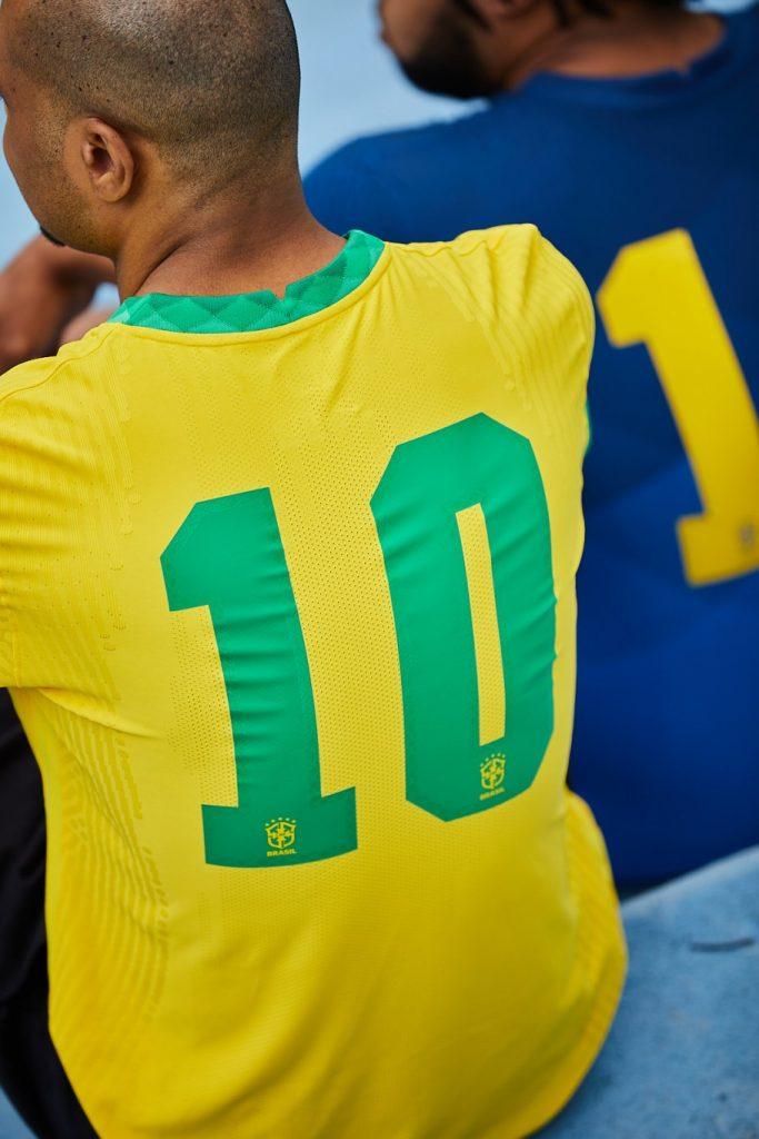 maillot brasil 2020-2022 numéro 10