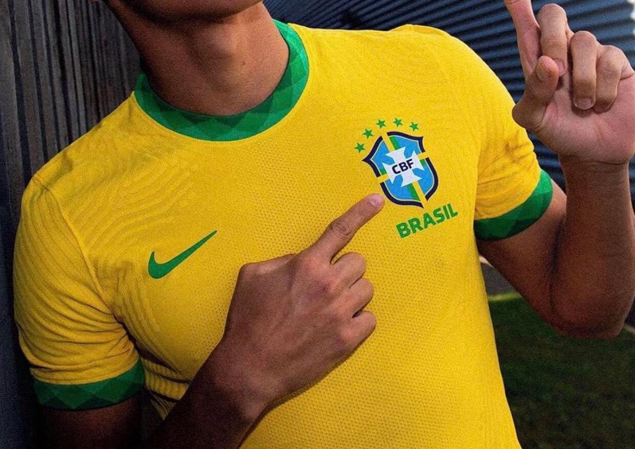 maillot brasil 2021