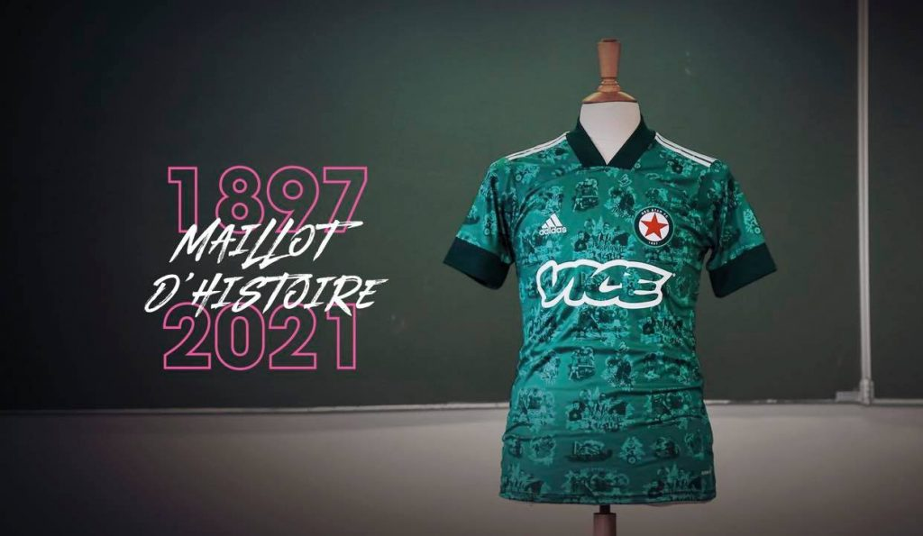 maillot d'histoire red star