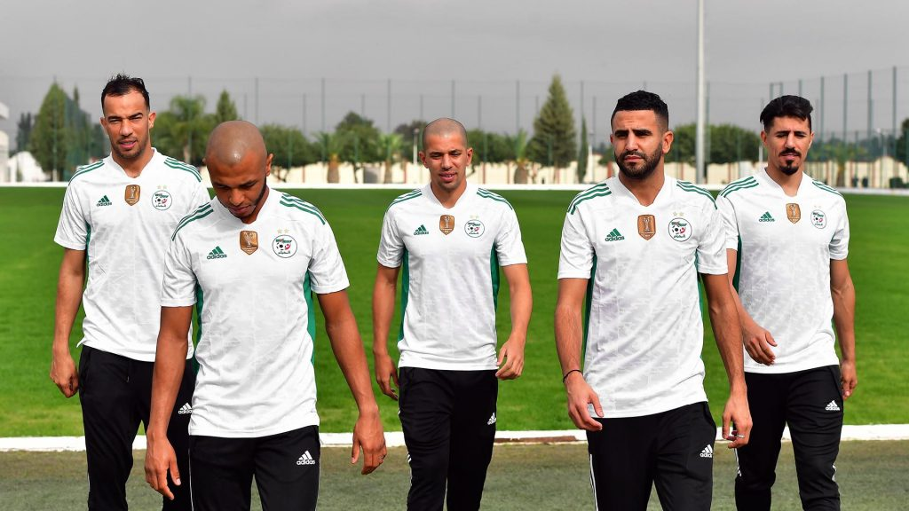 maillot domicile algérie 2021