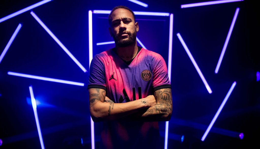 neymar psg maillot fourth