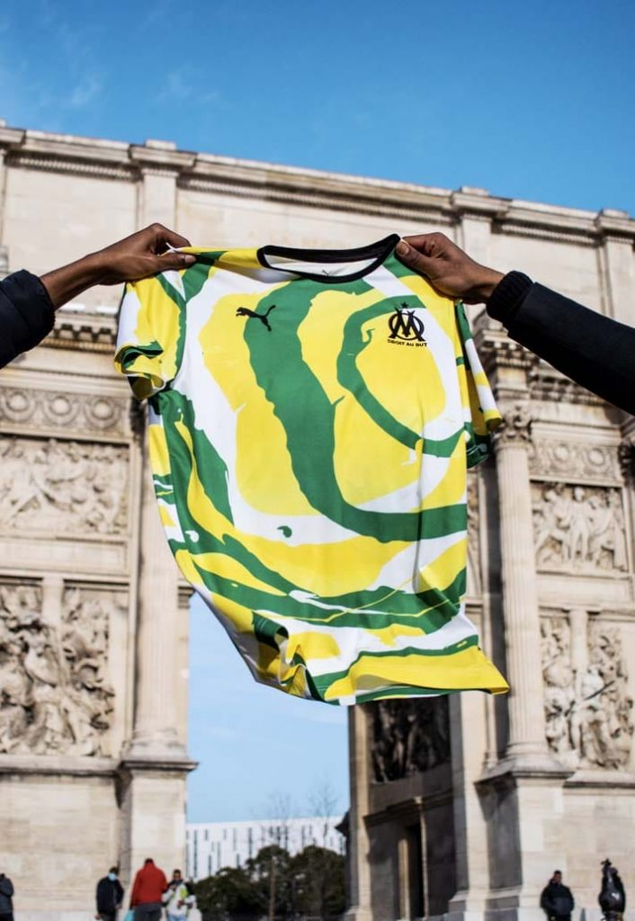 maillot om africa jersey
