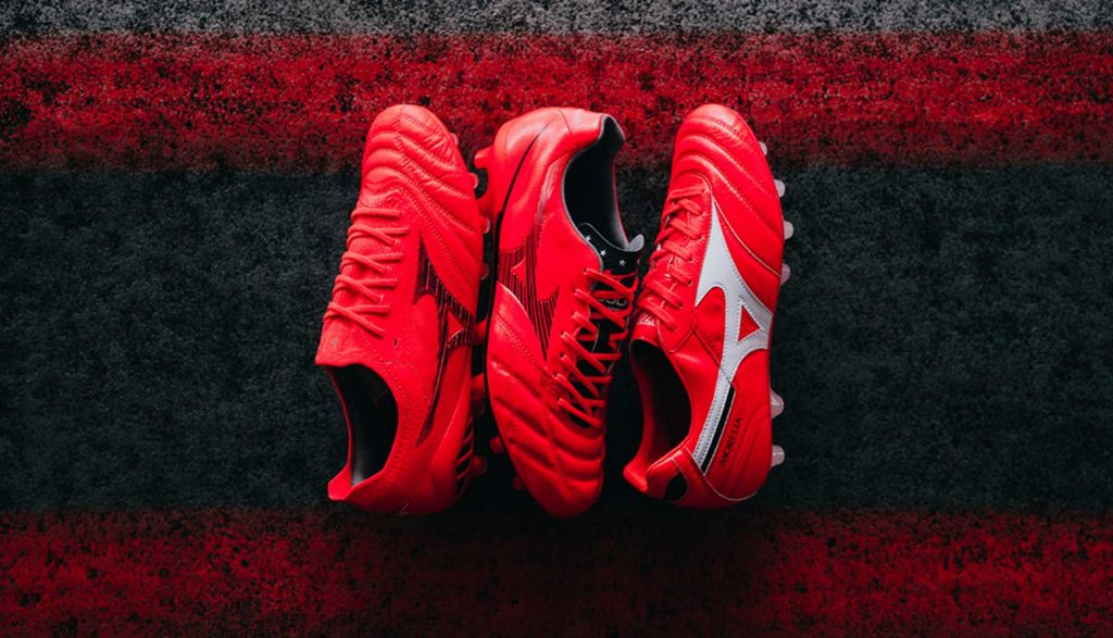 mizuno ignite red