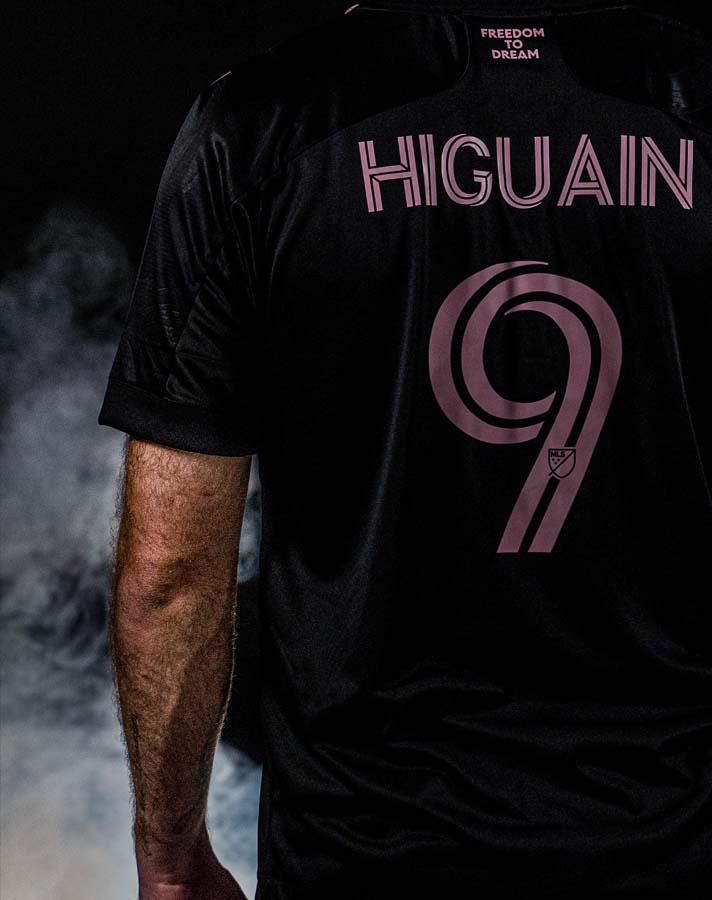 maillot inter miami higuain 2021