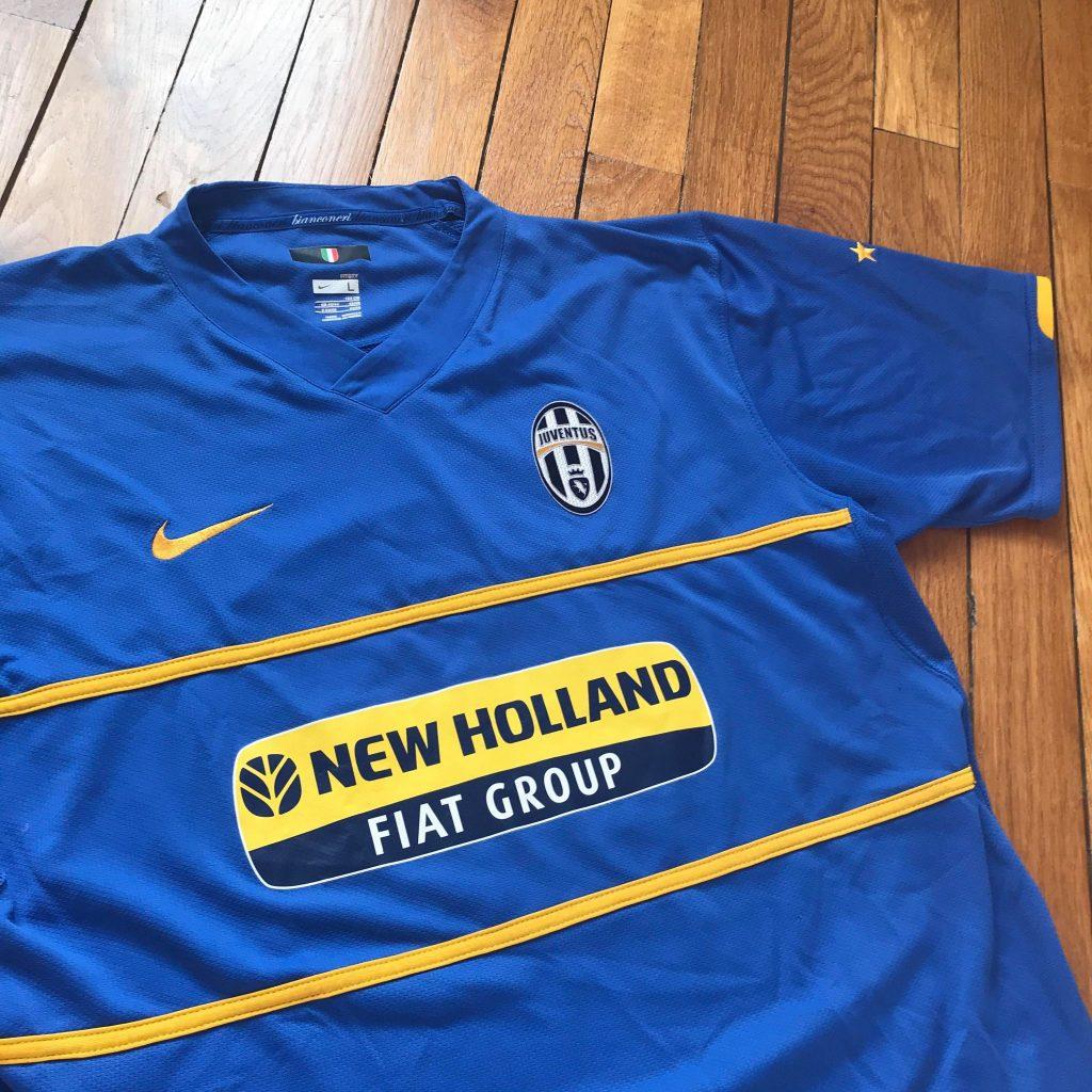 maillot away juventus 2007-08